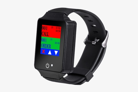 Touch Screen Waterproof Watch Pager R-08